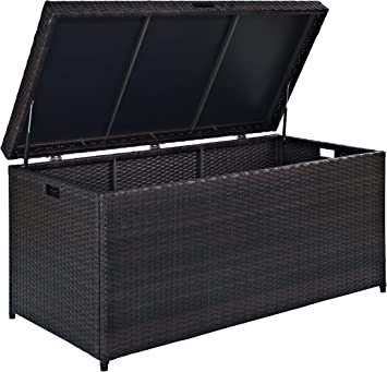 Amazon.com: Crosley Furniture Palm Harbor - Cesto de mimbre ...