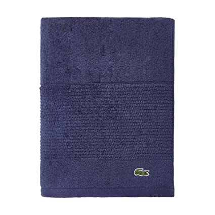 Amazon Lacoste Legend Towel 100 Supima Cotton Loops 650 GSM