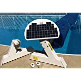 Automatic Solar Blanket Cover Reel/Roller - Remote Controlled, Solar Battery Charged/Powered, Motorized Units for 20x40' in-g