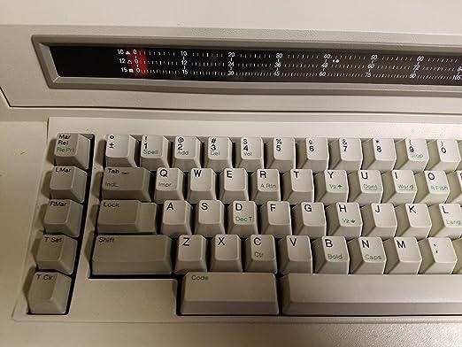 IBM/Lexmark 6781 Wheelwriter de máquina de escribir 1000: Amazon.es: Electrónica