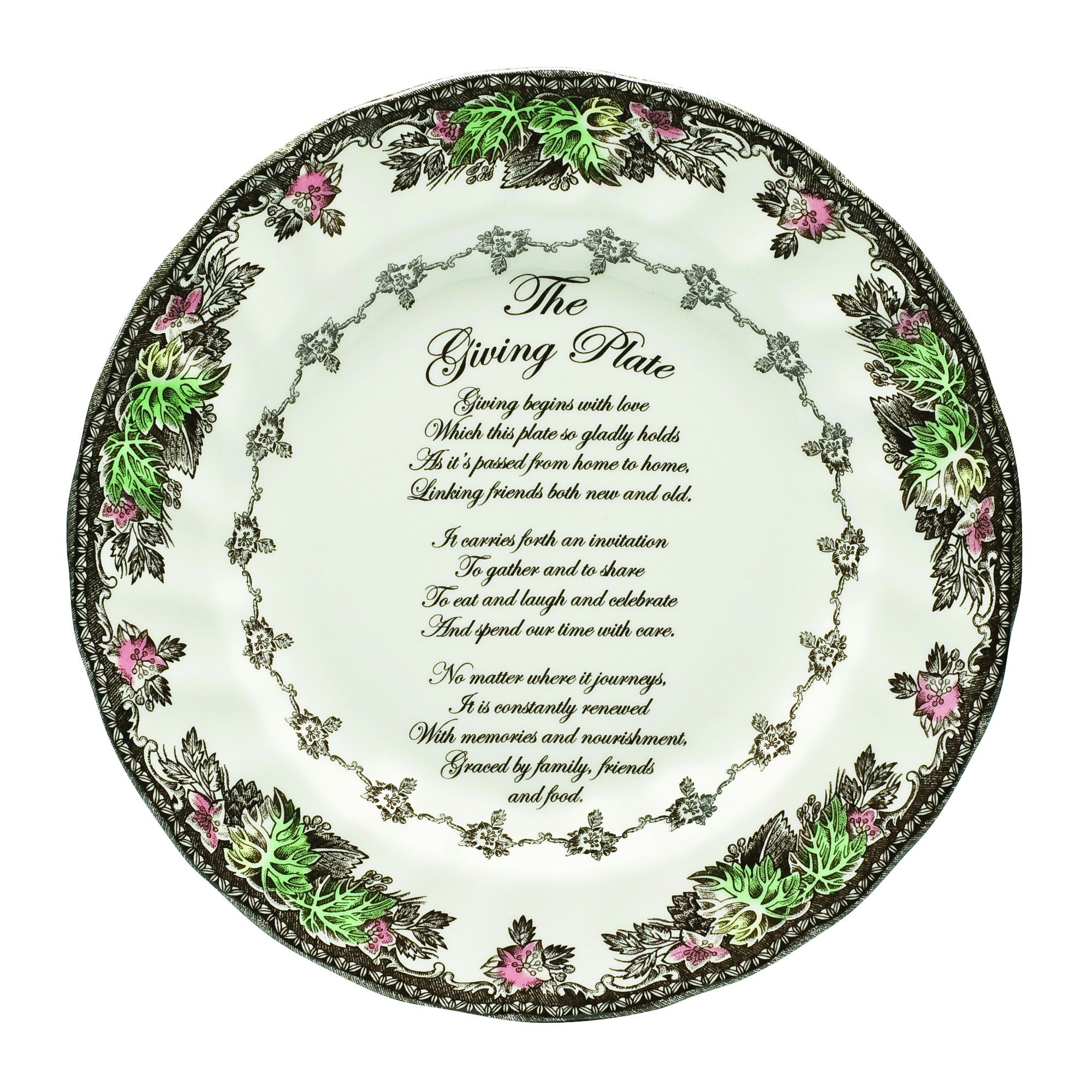 Johnson Brothers Friendly Village Giving Plate, 10-3/4-Inch