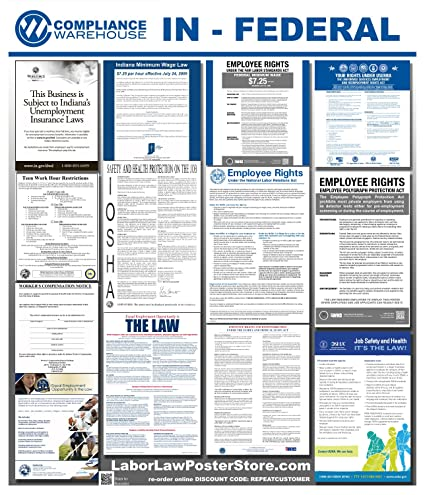 HI-A1 Osha4less Hawaii All-in-One Labor Law Posters