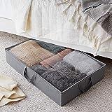 AmazonBasics Fabric Underbed Storage Bag