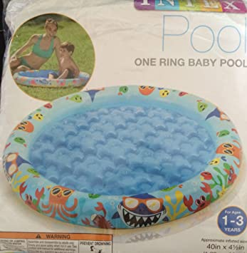 Amazing 1 X One Ring Baby Pool By Intex