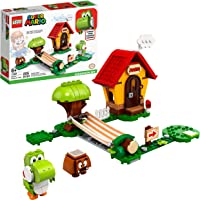 LEGO Super Mario Mario's House & Yoshi Expansion Set 71367 Building Kit, Collectible Toy to Combine with The LEGO Super…