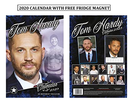 Tom Hardy Calendario 2020 + Tom Hardy imán para nevera: Amazon.es ...