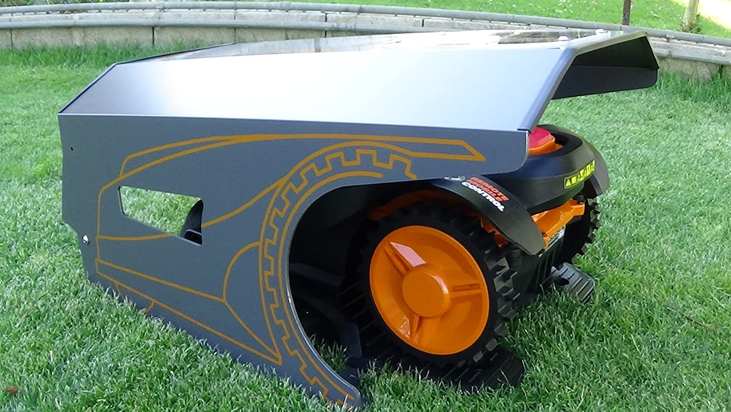 Idea Mower Garage Worx Landroid M Robot Cortacésped Garage ...