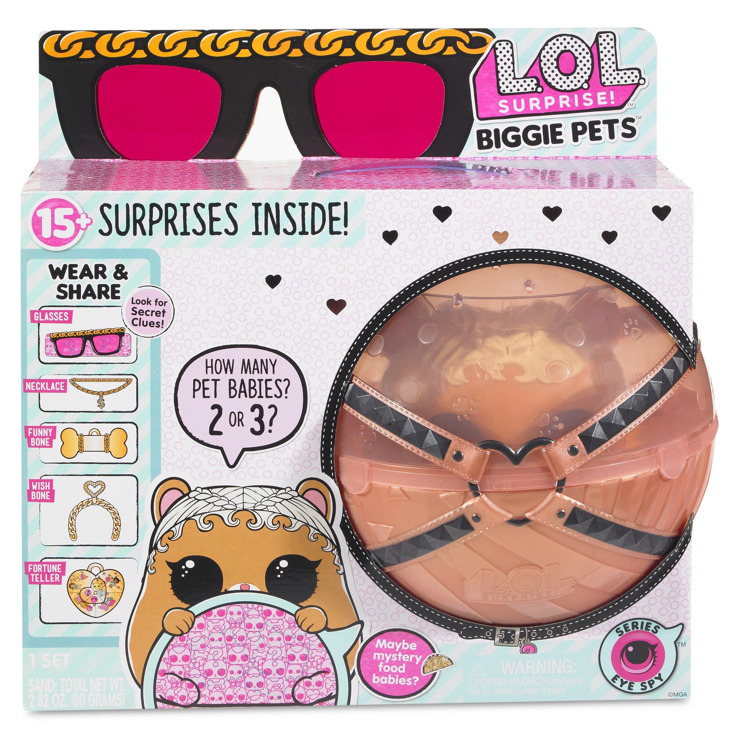 L.O.L. Surprise! Biggie Pet MC Hammy