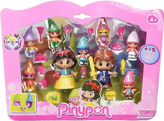 Famosa 700014094 Pinypon Pack de 3 princesas