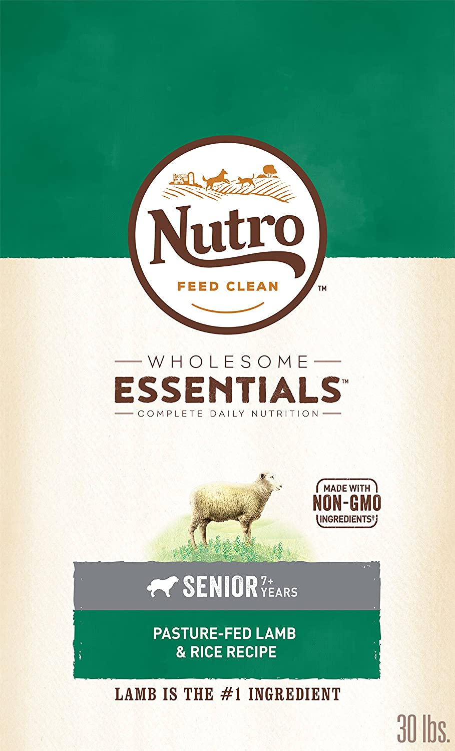 Nutro Wholesome Essentials Dry Food for Dogs 10157644