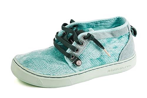 Satorisan Zapatillas de Lona para mujer Azul azul, color Azul, talla 37: Amazon.es: Zapatos y complementos