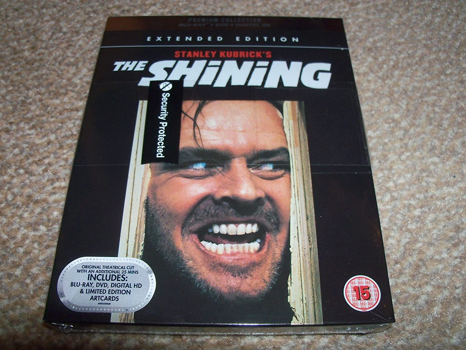 The Shining Extended Version Blu Ray / Includes DVD + Art Cards / Digital Download: Amazon.es: Cine y Series TV
