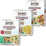 Jovial Farfalle Pasta | Jovial Elbows Pasta | Jovial Penne Rigate Pasta | Whole Grain Brown Rice Pasta | Gluten-Free | Non-GM