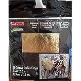 Craft Smart Premium Gold Leaf 25 Sheets