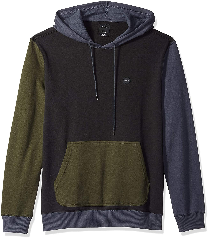 RVCA Men's Ruddy Hooded Fleece Sweatshirt M605QRRD