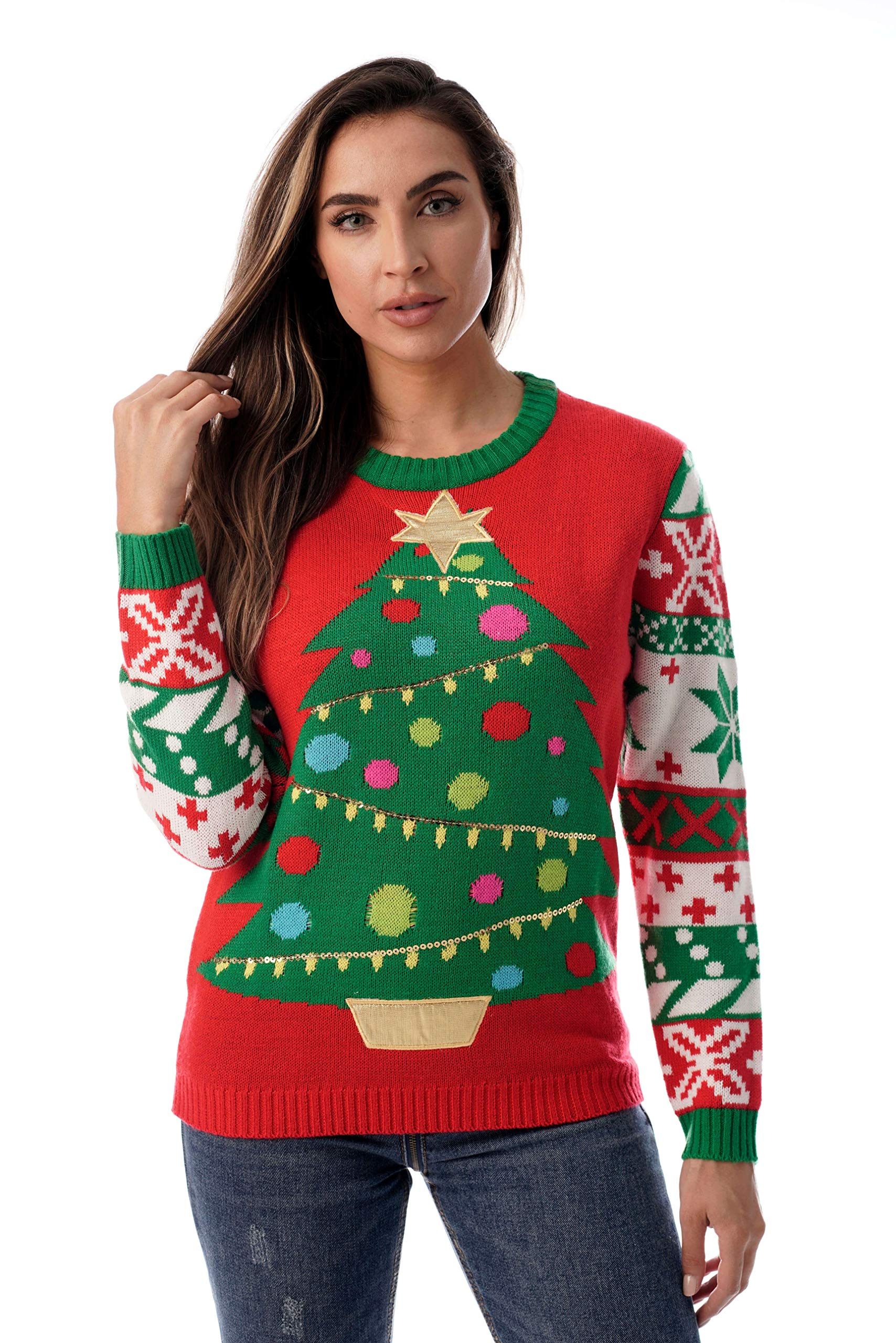 The Office Christmas Sweater.Followme Womens Ugly Christmas Sweater Sweaters For Women