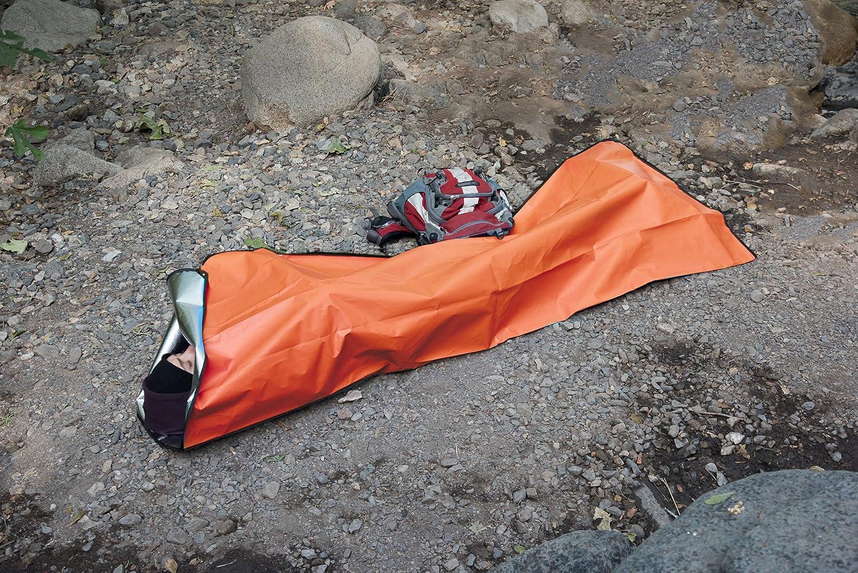 SE EB5982OR Survivor Series Extra Heavy-Duty Thermal Reflective Emergency Blanket Sona Enterprises