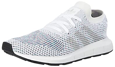 new style 1fa3e cb031 adidas Unisex Adults  Swift Primeknit Training Running Shoes, (Footwear  White core Black