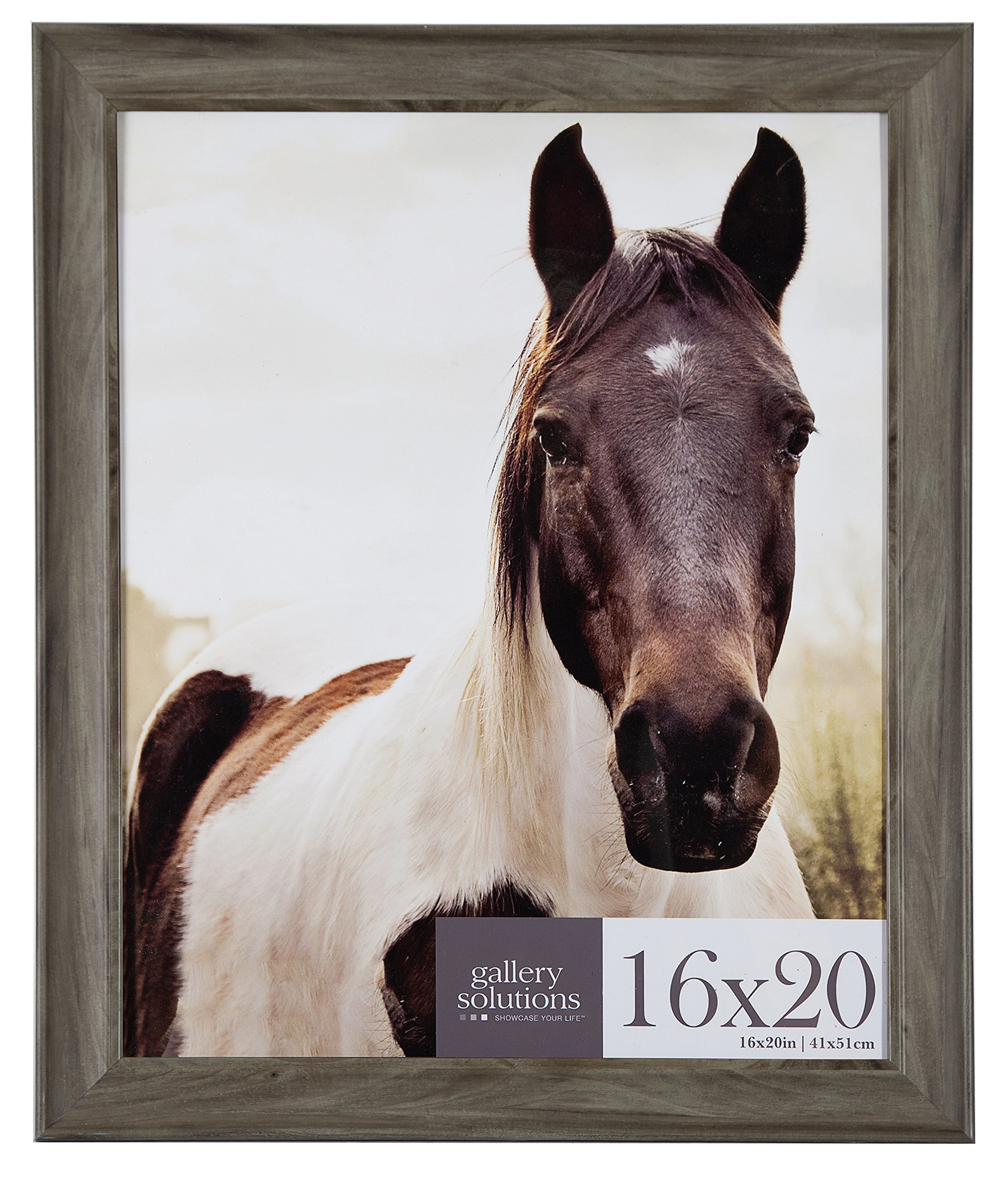 Gallery Perfect 16x20 Greywash Large Wall Frame, Grey Wash by Gallery Perfect