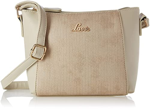44cdd5618 Image Unavailable. Image not available for. Colour  Lavie Broxa Women s  Sling Bag (Beige)