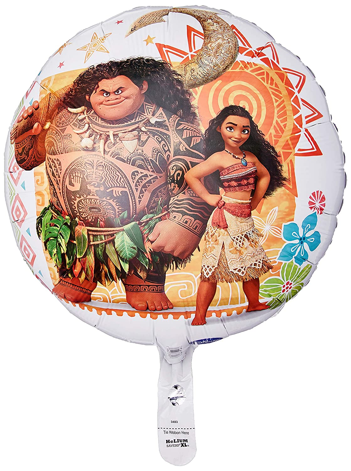 Anagram 34688 Moana Foil Balloon 28 Multicolored