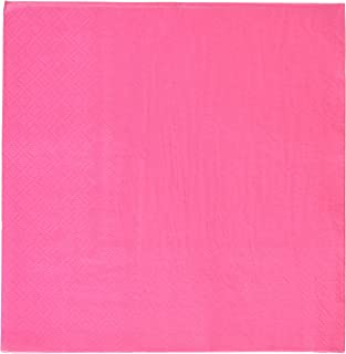 Rhode Island Novelty Hot Pink Luncheon Napkins (50 pc)  sc 1 st  Amazon.com : fuschia paper plates - pezcame.com
