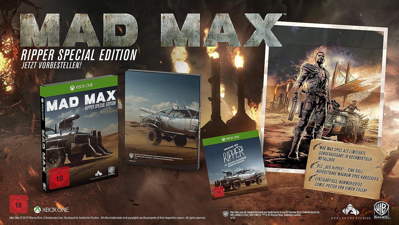 Mad Max - Ripper Edition [Importación Alemana]: Amazon.es: Videojuegos