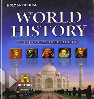 Amazon miller levine biology 2014 student edition grade 10 world history patterns of interaction student edition survey fandeluxe Gallery
