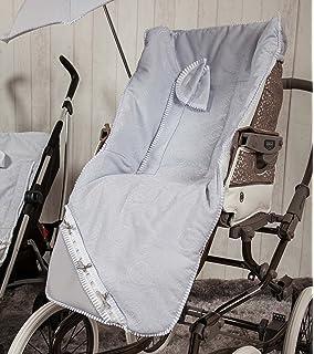 cb38d4620 Babyline Carrusel - Colchoneta para silla de paseo, color azul ...