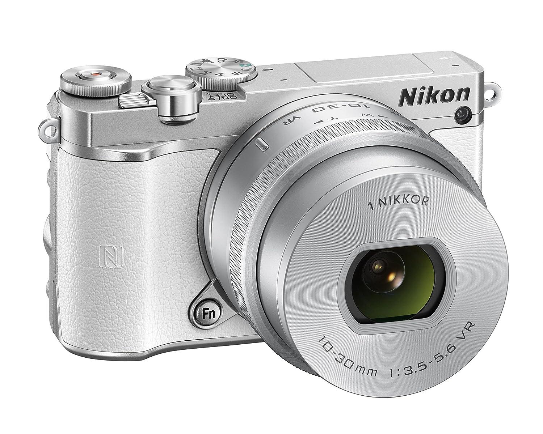 Nikon 1 J5 Compact System Camera - White: Amazon.co.uk: Camera & Photo