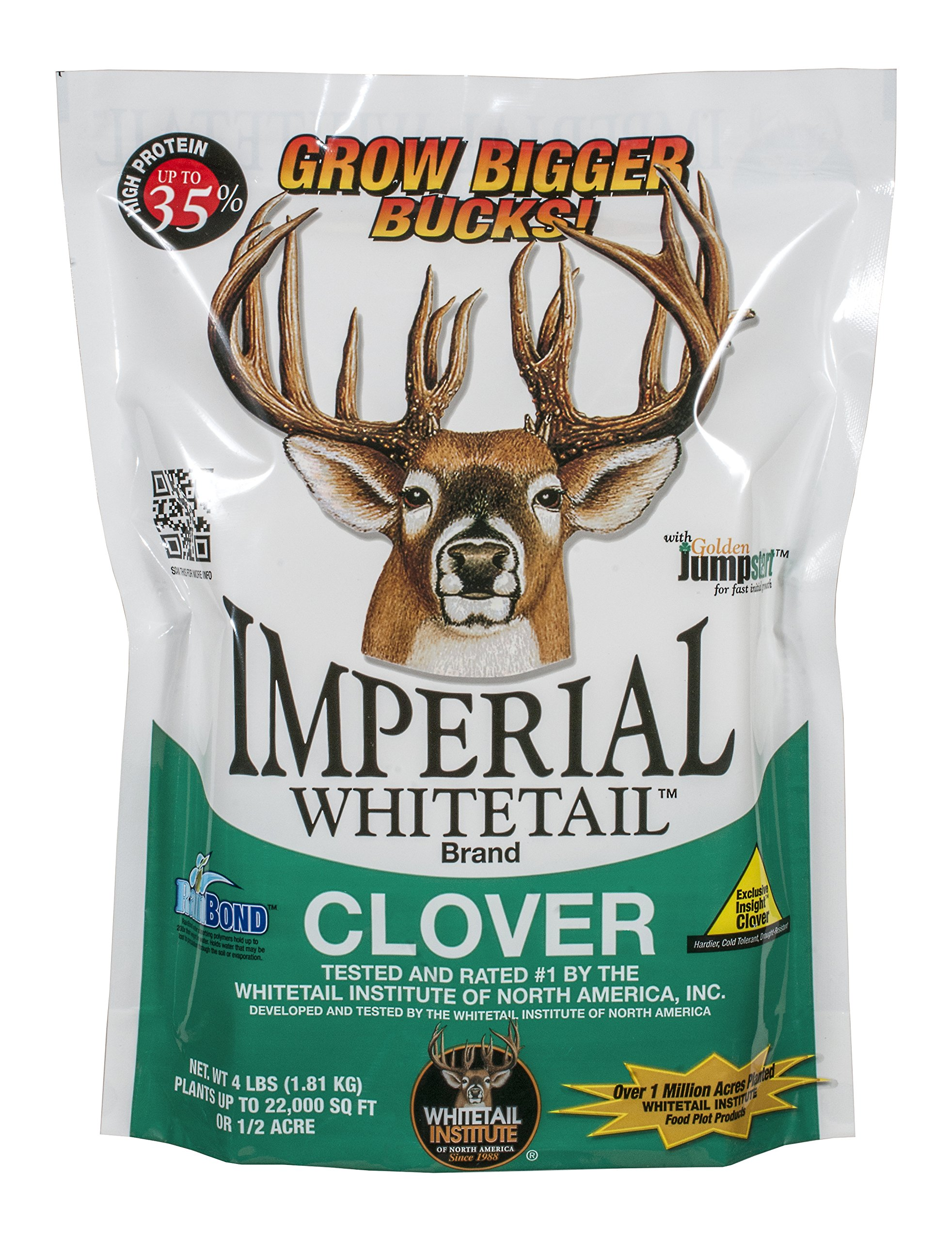 Whitetail InstituteImperial Whitetail Clover 18 - lb. Bag by Whitetail Institute