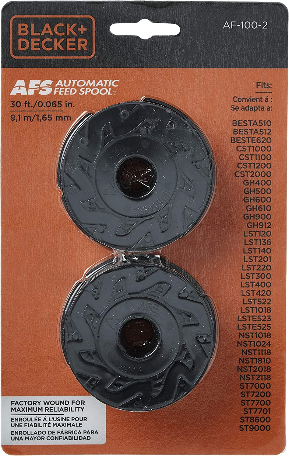 For Black and Decker LST140 LST201 LST220 LST300 LST400 LST420 8PK Spool