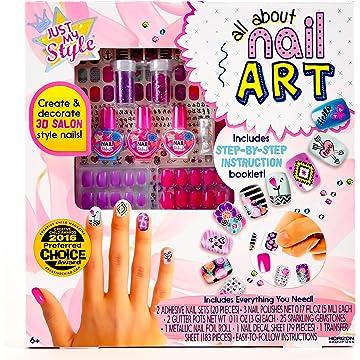 Amazon Creativity For Kids Ultimate Nail Studio Manicure Play