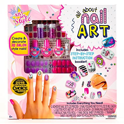 Amazon Just My Style All About Nail Art By Horizon Group Usa