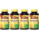 Nature Made AUNDVE Melatonin Tablets, Value Size, 3 Mg, 240 Count (Pack of 4)