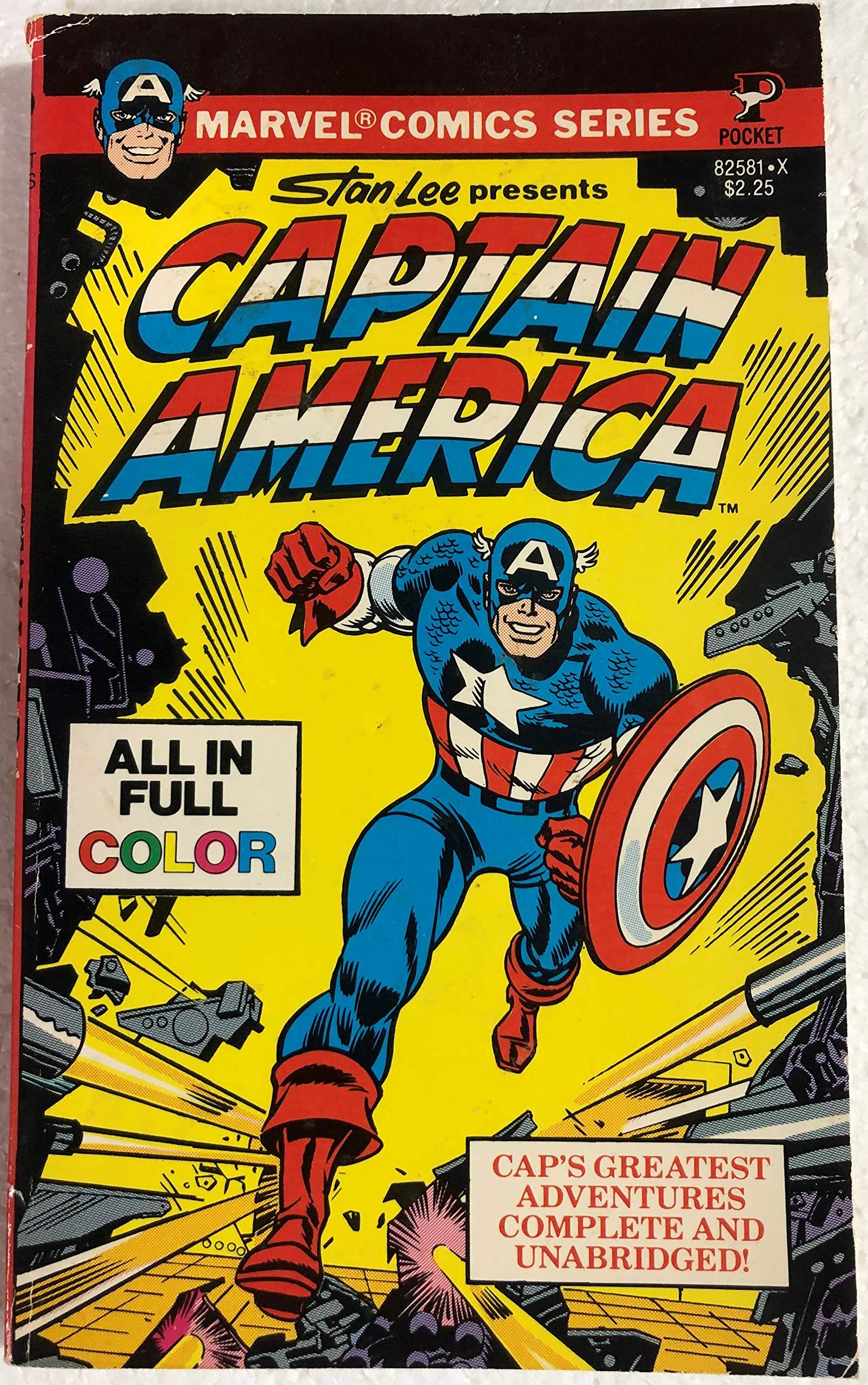 Captain America 9780671825812 Marvel Comic Group Books
