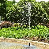 Xcellent Global Fontaine à énergie solaire, pompe à eau flottante avec un panneau solaire de 1.4W pour pièce d'eau extérieur, bassin, mare, aquarium de jardin HG148