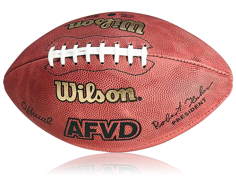 Wilson Football AFVD Game Ball, SC, Rot, Senior, WL0206101141