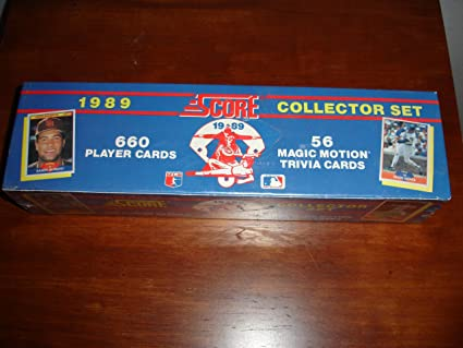 Score 1989 Baseball Card Factory Set