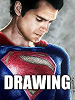 Time Lapse Drawing of Superman