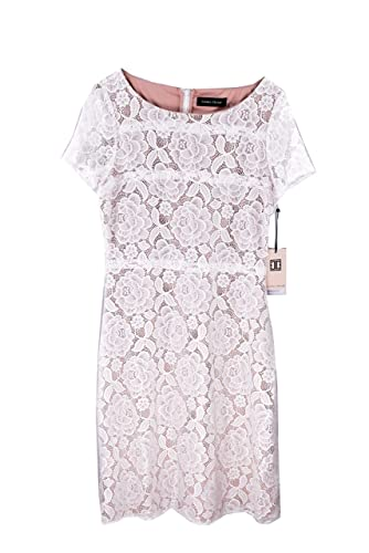 Ivanka Trump Women's Lace Overlay Dress