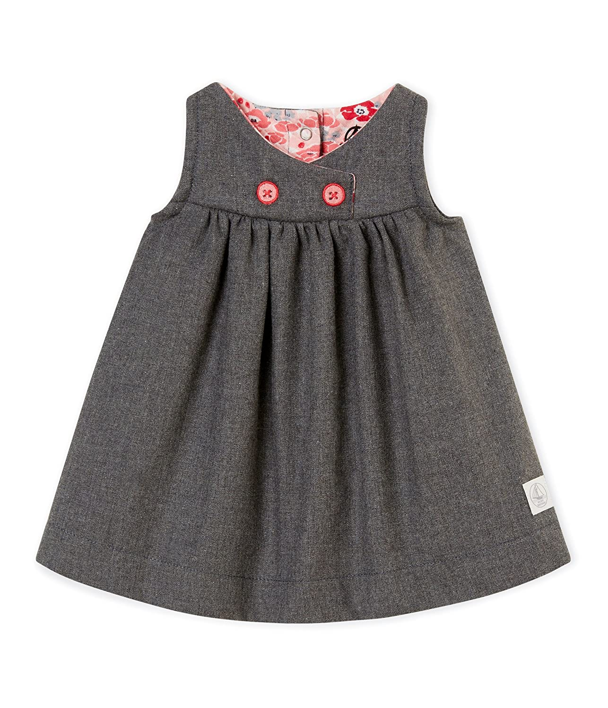 Petit Bateau Baby-Mädchen Kleid 4404101