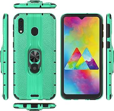 Custodia® Firmness Smartphone Funda Carcasa Case Cover Caso con Anillo para Samsung Galaxy M20(5): Amazon.es: Electrónica
