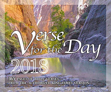 365 Bible Verse for the Day - All KJV Scripture Verses 2018 Calendar