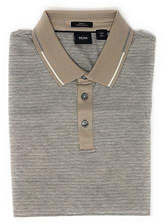 16ef42d7 Amazon.com: Hugo Boss Mens Pitton 04 Polo Shirt Slim Fit Mercerised Pique:  Clothing