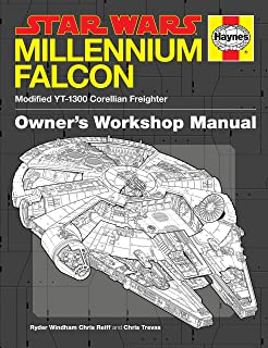 Star wars the blueprints j w rinzler 9781611097962 amazon star wars millennium falcon owners workshop manual malvernweather Image collections