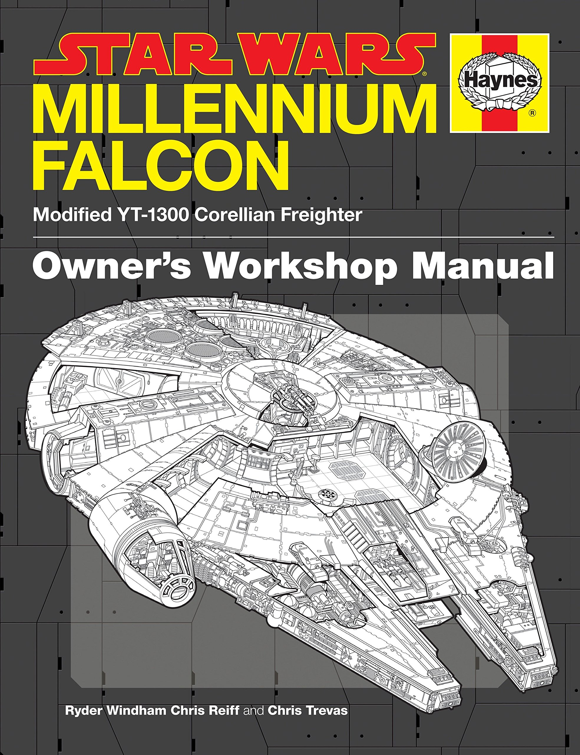 Star Wars Millennium Falcon: Owner's Workshop Manual: Ryder Windham, Chris  Reiff, Chris Trevas: 9780345533043: Amazon.com: Books
