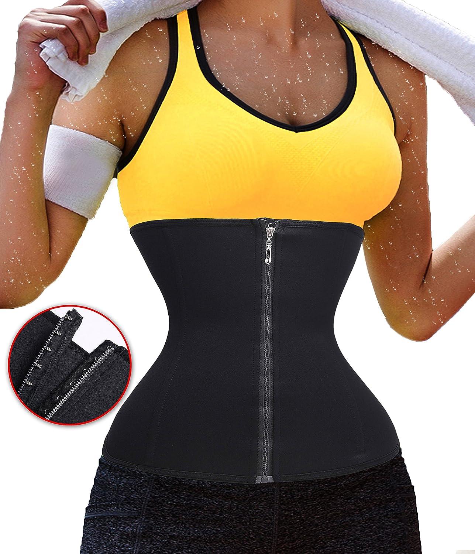 TAILONG Women's Waist Corset Yoga Workout Active Weight Loss Body Shaper