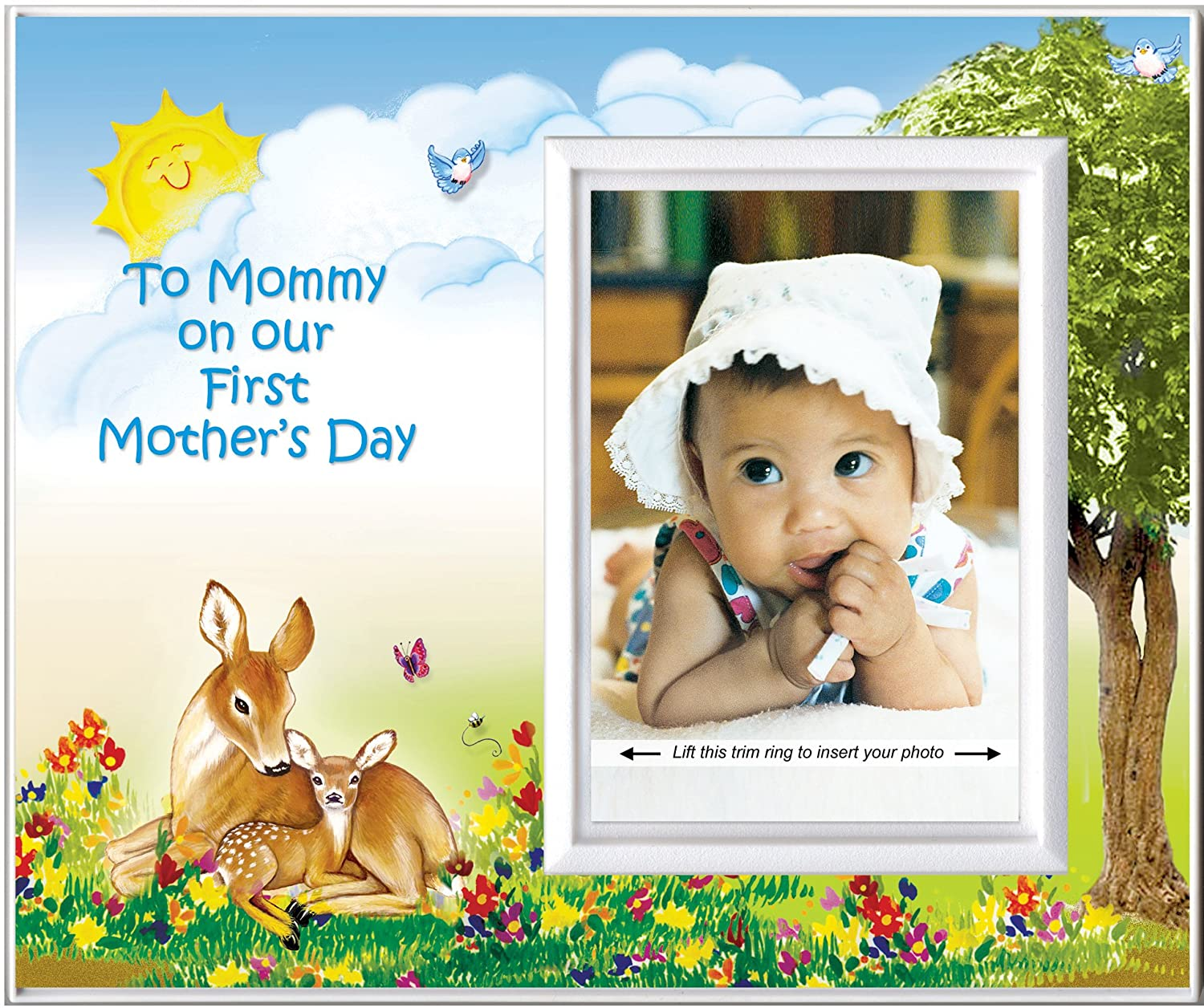 Amazon.com : First Mother\'s Day Picture Frame Gift | Holds 3.5"|1500|1256|?|1c711cb0137c85438381ca4867ed7755|False|UNLIKELY|0.34841930866241455