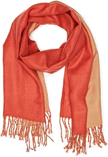 b2e79275141d United Colors of Benetton - Scarf - Echarpe - Femme - Beige (Beige Orange